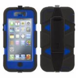 Griffin Survivor Military Duty Case for iPhone 5 / 5S Blue & Black GB35680